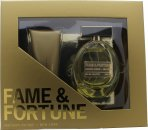 Fame & Fortune for Women Gavesæt 100ml EDT + 100ml Body Lotion