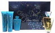 Paris Hilton Fairy Dust Gavesæt - 100ml EDP Spray + 90ml Shower Gel + 90ml Body Lotion + Spejl og Pung