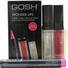GOSH Wonder Lips Gavesæt 2.5ml Long Lasting Lip Marker - 002 Pink + 2 x 6 ml Light'n Shine Lip Glaze - 01 & 08