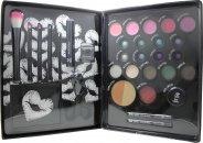 Jigsaw Perfect Colour Ultimate Make Up Kit Gavesæt - 30 styks. (Bronzer - Blusher - Øjnskygge - Eyeliner - Læbe Balm - Læbe Gloss - Mascara - Vippetang - Applikatorer)