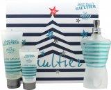 Jean Paul Gaultier Le Beau Male Gavesæt 125ml EDT Spray + 75ml Shower Gel + 30ml Aftershave Balm