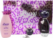 Katy Perry Purr Gavesæt 50ml EDP + 120ml Body Lotion + Solid Parfume