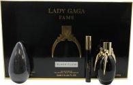 Lady Gaga Fame Gift Set 50ml EDP + 10ml Roller Ball + 142g Sæbe