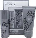 David Beckham David Beckham Homme Gavesæt 200ml Shower Gel + 150ml Deodorant Spray