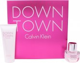 Calvin Klein Downtown Gavesæt30ml EDP + 100ml Shower Gel