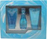 Davidoff Cool Water Gavesæt 30ml EDT + 50ml Body Lotion + 50ml Shower Gel