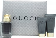 Gucci Made to Measure Gavesæt 50ml EDT + 50ml Aftershave Balm + 50ml Shower Gel