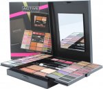 Active Glamour Endless Colour Compact With Mirror 36 Øjnskygger + 4 Læbestift + 2 Blushers + 1 Bronzer Powder + 1 Eye Liner + Applicator