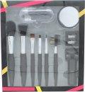 Active Cosmetics Prestige Luxe Brush Gavesæt 6 Børste + Spejl + Øjnvippe Bøjer + 5 Applikatorer + Blyantspidser