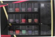 Active Cosmetics Glamour Nail Bar Selection 15 x 5ml Nail Lacquers + 2 x Tå Separator + Neglefil + 25 x Negle Smykker