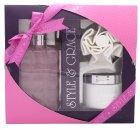 Style & Grace Luxury Retreat Gavesæt - 500ml Luxury Bath Cream + 170ml Body Butter + Shower Flower (2015)