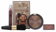 Sunkissed Sunlight Bronze Gavesæt - Bronzing Pudderr + Blusher + Lip gloss + Bronzing Børste