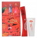 Kenzo Flower Tag Gavesæt 100ml EDT + 50ml Body Lotion + Make Up Bag