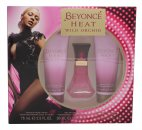Beyoncé Heat Wild Orchid Gavesæt 30ml EDP + 75ml Body Lotion + 75ml Shower Gel