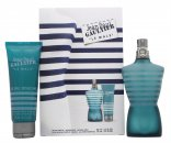 Jean Paul Gaultier Le Male Gavesæt 125ml EDT + 75ml Shower Gel + 75ml Aftershave Balm