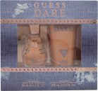 Guess Dare Gavesæt 50ml EDT + 200ml Body Lotion