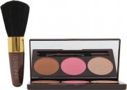 Sunkissed Bronze and Contour Gavesæt 3.5g Bronzer + 3.5g Blush + 3.5g Highlighter + Applicator + Blusher Brush