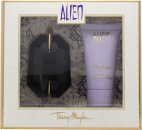 Thierry Mugler Alien Gavesæt 15ml Refillable EDP + 30ml Radiant Body Lotion