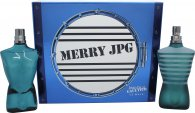 Jean Paul Gaultier Le Male Merry JPG Gavesæt 125ml EDT + 125ml Aftershave Lotion