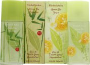 Elizabeth Arden Green Tea Gavesæt 100ml EDT Spray Green Tea Bamboo + 100ml EDT Spray Green Tea Yuzu