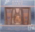 Guess Dare Gavesæt 30ml EDT + 75ml Body Lotion + 75ml Shower Gel
