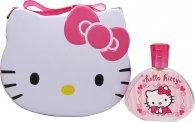 Hello Kitty Gavesæt 100ml EDT + Metal Madpakke Boks