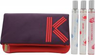 Kenzo Coffret Travel Collection Gavesæt 15ml EDP Flower by Kenzo + 15ml EDT L'eau Par + 15ml EDT Kenzo Floralista