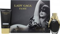 Lady Gaga Fame Gavesæt 50ml EDP + 75ml Body Lotion