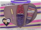 Justin Bieber Girlfriend Gavesæt 30ml EDP + 50ml Body Lotion + 5ml EDP Rollerball