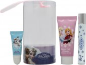 Disney Frozen Gavesæt 9ml Rollerball + 25ml Bubble Bath + Lipgloss