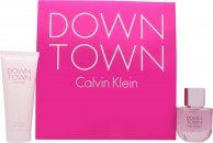 Calvin Klein Downtown Gavesæt 50ml EDP + 100ml Shower Gel