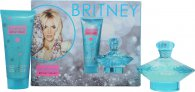 Britney Spears Curious Gavesæt 100ml EDP Spray + 100ml Body Souffle