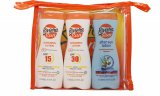 Riviera Sun Care Gavesæt 200ml Sunscreen SPF15 + 200ml Sunscreen SPF30 + 200ml After Sun Lotion