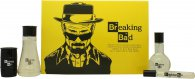 Breaking Bad Gavesæt 75ml EDT + 150ml Body Wash + 2 x 14g Bath Bomb + 15ml EDT