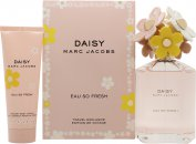 Marc Jacobs Daisy Eau So Fresh Gavesæt 125ml EDT + 75ml Body Lotion