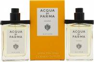 Acqua di Parma Colonia Gavesæt 2 x 30ml EDC Genopfyldelig Rejse Størrelse