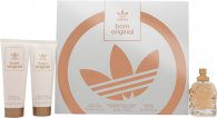 Adidas Born Original for Her Gavesæt 50ml EDP + 75ml Body Lotion + 75ml Shower Gel