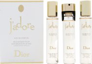 Christian Dior J'Adore Gavesæt 100ml EDP + 7.5ml Travel Spray
