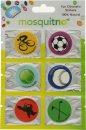 MosquitNo Spotzzz Citronella Klistermærker Enkelt Ark Mix Designs