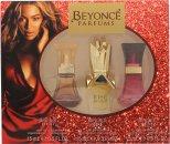 Beyonce Gavesæt 15ml Heat EDP + 15ml Rise EDP + 15ml Wild Orchid EDP