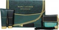 Marc Jacobs Decadence Gavesæt 100ml EDP + 75ml Body Lotion + 75ml Shower Gel