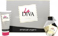 Emanuel Ungaro La Diva Gavesæt 50ml EDP + 100ml Body Lotion