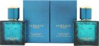 Versace Eros Gavesæt 2 x 30ml EDT Spray