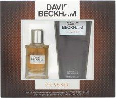 David Beckham Classic Gavesæt 40ml EDT + 200ml Shower Gel