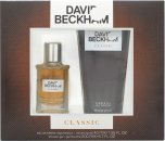 David Beckham Classic Gavesæt 40ml EDT + 200ml Shower Gel