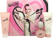 Katy Perry Mad Love Gavesæt 30ml EDP + 75ml Body Lotion + 75ml Shower Gel