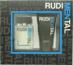 RudiMENtal Blue Pour Homme Gavesæt 100ml EDT + 150ml Shower Gel