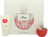 Nina Ricci Nina Gavesæt 50ml EDT + 75ml Body Lotion