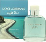Light Blue Pour Homme Swimming in Lipari