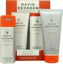 David Beckham Instinct Sport Gavesæt 150ml Deodorant Body Spray + 200ml Shower Gel